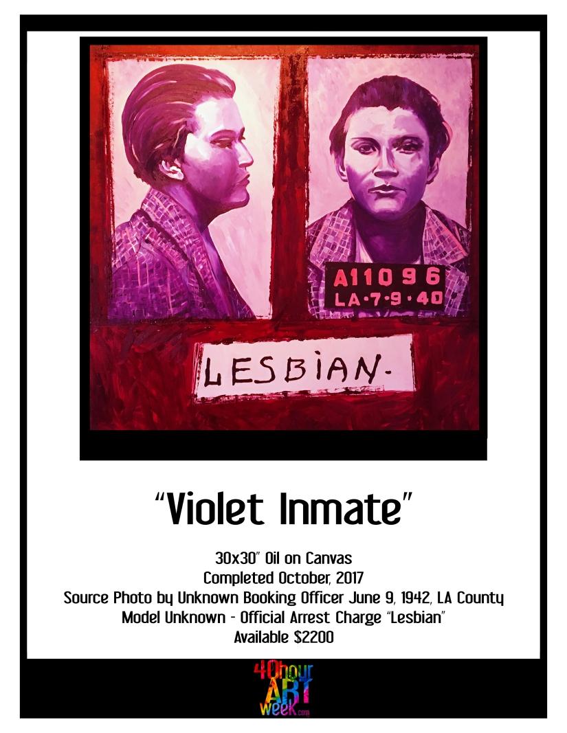 violet inmate portfolio sheets